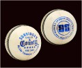 SS COUNTY White Cricket Balls - Pack of 6