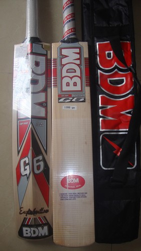 BDM G6 English Willow Cricket Bat