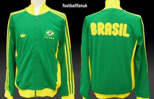 BRAZIL Brasil Adidas Originals 1978 Retro Track Top Medium