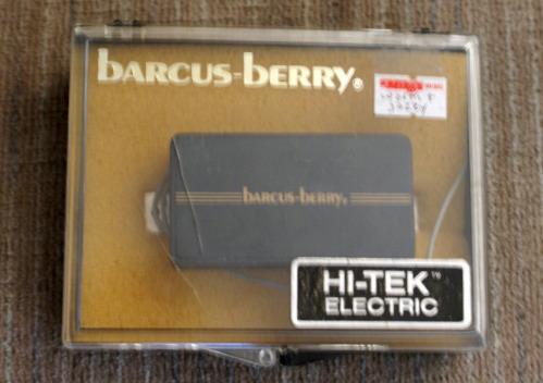 Rare Electric Guitars >> Barcus Berry Hi Tek Pickup(s) - Guitar Vintners