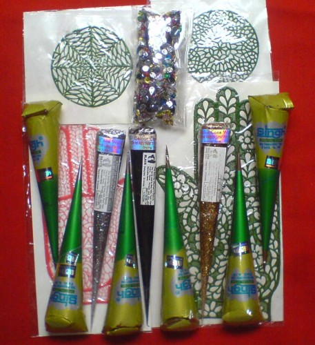 Huge selection of quality, all natural henna tattoo kits/products.