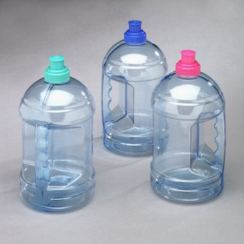 This sleek and sanitary bottle is perfect for any active person who needs their water to go. Its steel construction renders it virtually indestructible--perfect for