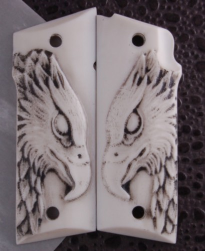 Coonan Grips Carved Corian Eagle No 00003 Collins