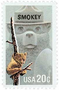 Scott #2096 20-Cent Smokey the Bear Single - MNH.jpg