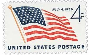 Scott #1132 4-Cent U.S. Flag with 49 Stars Single - MNH.jpg