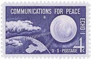 Scott #1173 4-Cent Echo I - Communications for Peace Single - MNH.jpg
