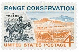 Scott #1176 4-Cent Range Conservation Single - MNH.jpg