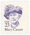 Scott #2181 23-Cent Mary Cassatt Single - MNH.jpg