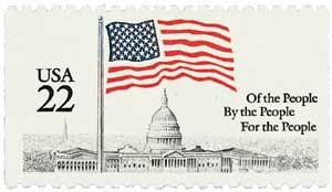 Scott #2116 22-Cent Flag over Capital Booklet Single - MNH.jpg