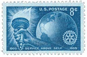 Scott #1066 8-Cent Rotary International Single - MNH.jpg