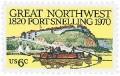 Scott #1409 6c Fort Snelling - MNH.jpg