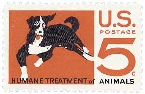 Scott #1307 5c Humane Treatment of Animals - MNH.jpg