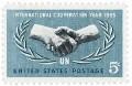 Scott #1266 5c International Cooperation Year - MNH.jpg