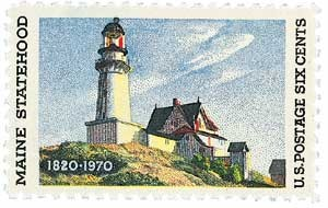 Scott #1391 6c Maine Statehood - MNH.jpg