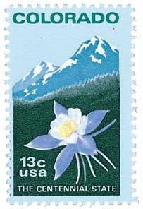 Scott #1711 13c Colorado Statehood - MNH.jpg