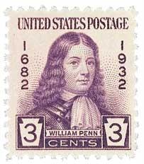 Scott #724 3-Cent William Penn Single - MNH.jpg