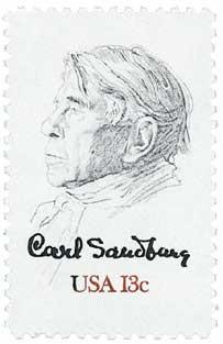 Scott #1731 13c Carl Sandburg - MNH.jpg