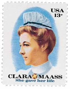 Scott #1699 13c Clara Maass - MNH.jpg