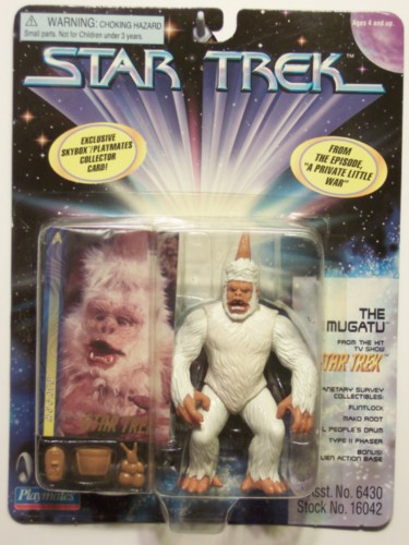 Mugatu - Star Trek MOC action figure SN 029297 - Heroes ...