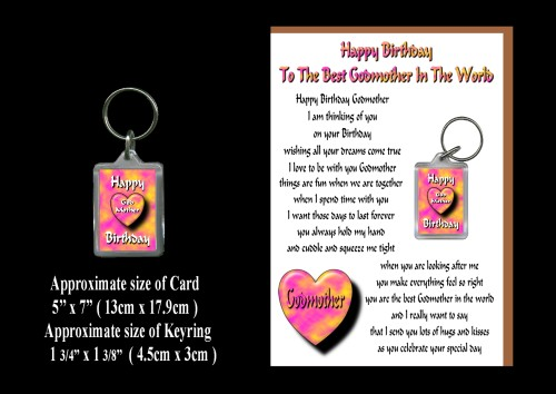 Godmother Birthday Images Happy Birthday Godmother Card