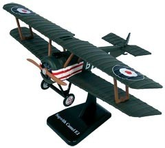 WWI British Sopwith Camel bi-plane the Snoopy Plane WWI Military aircraft 1:48 scale