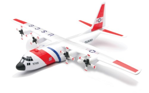 Lockheed-Martin C130 Hercules Military USCG Rescue aircraft 1:30 scale