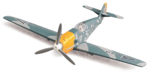 WWII BF109 German fighter aircraft Military display airplane 1:48 scale