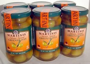 Martinis Greek Green Olives withPit, SuperOlive