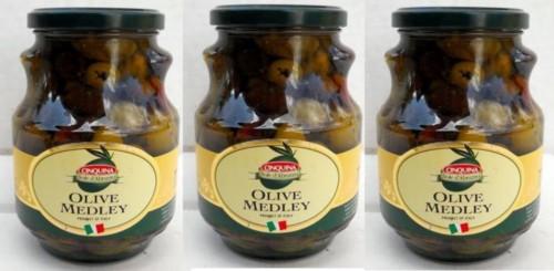 Cinquina Italian Olives, SuperOlive, qty-3