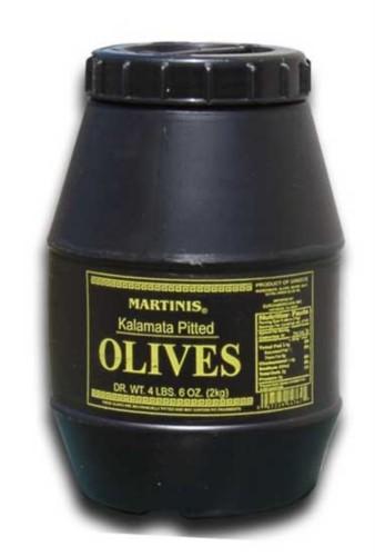 Martinis Greek Kalamata Pitted Olives, SuperOlive