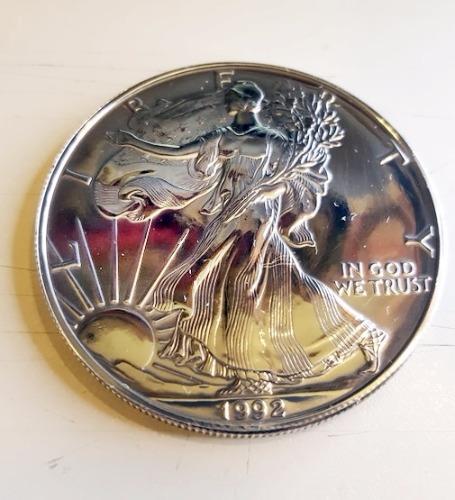 1992 Silver Eagle 1oz - OBVERSE