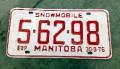 Manitoba Skidoo Licence Plate.jpeg