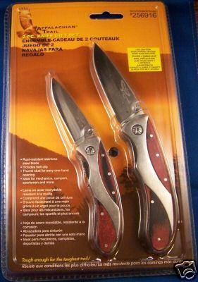 Appalachian Trail 2 Piece Knife Set Grandma Earth