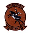 US NAVY Aviation Fighter Squadron One Hundred Fourteen VF-114 Patch.jpeg