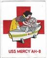 US Navy AH-8 USS Mercy Hospital Ship Patch 001.jpeg