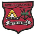 US Navy River Division 511 Vietnam Patch 001.jpeg