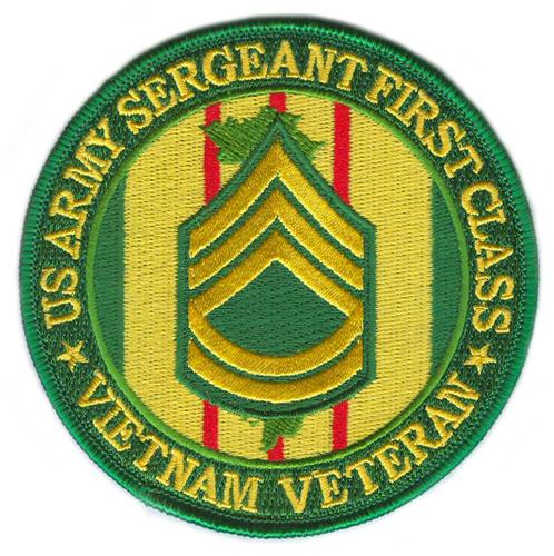 United States Army Sergeant First Class Vietnam Veteran