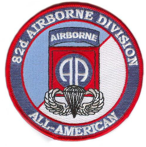 United States Army 82nd Airborne Division Patch With