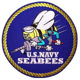Pm9110 Patch Usn Seabees Logo Militaryplus