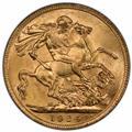 Australia 1924-M Gold Sovereign PCGS MS64 1 (1)