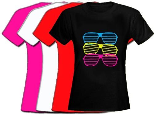 Shutter Shades Design Womens Fitted T Shirt 8 16