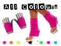 80s Leg Warmers & Short Mesh Gloves Deal