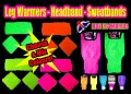 Neon Leg Warmers, Headband, Sweatbands deal.jpeg