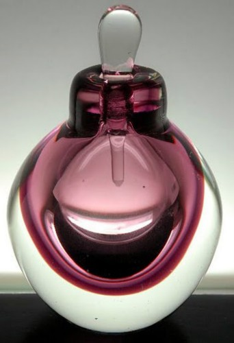 "BARE ""BARE IT ALL"" Perfumes in  Hand Blown Glass Flacons"