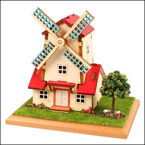 diy wooden windmill