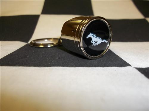 Ford Mustang Keychain Ford Mustang Piston Keychain