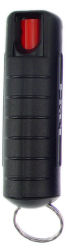 Streetwise 17% Pepper Spray Hard Case  .5 oz Black