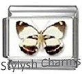 BI046 Italian Charm BUTTERFLY INSECT Photo Charm
