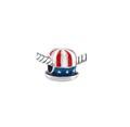 USA Hat Bead
