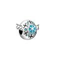 Crystal Snowflake Bead